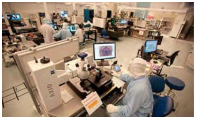 Figure 7-3. Cleanroom at LLNL for target assembly and characterization.
